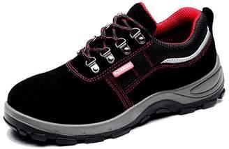 CHNHIRA Unisex Steel Toe Cap Safety Boots 9.5US