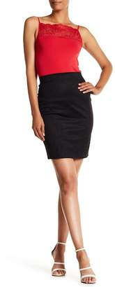 Wolford Summer Faux Suede Skirt