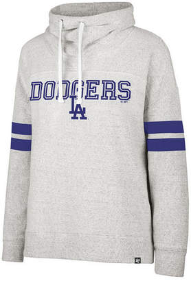 '47 Women's Los Angeles Dodgers French Terry Funnel Hoodie