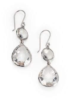 Ippolita Clear Quartz & Sterling Silver Drop Earrings