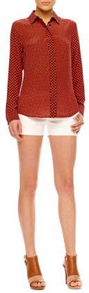 MICHAEL Michael Kors Stretch Twill Shorts