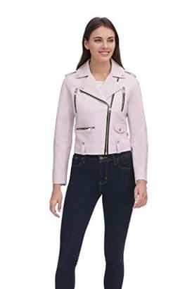 Levi's Women's Plus Size Contemporary Asymmetrical Motorcycle Jacket
