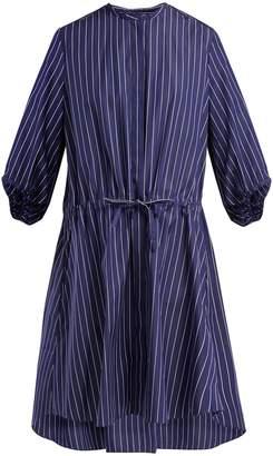 Maison Rabih Kayrouz Striped cotton-poplin shirtdress