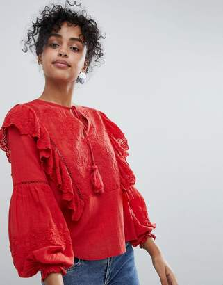 New Look Ruffle Blouse