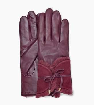 UGG Combo Sheepskin Trim Glove