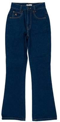 ATTICO Mid-Rise Straight Jeans
