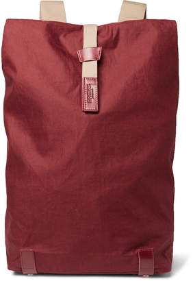 Brooks England - Pickwick Large Coated-Canvas Backpack