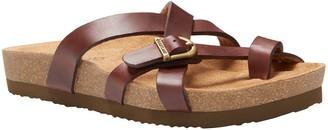 Eastland Leather Slide Sandals - Sable