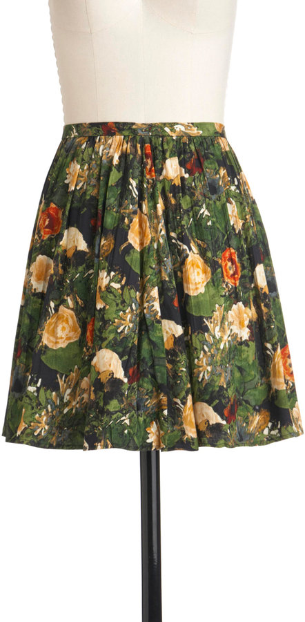 Jack by BB Dakota Ranunculus-ly Good Looking Skirt