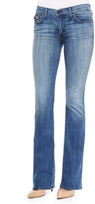 True Religion Becca Faded Boot-Cut Jeans, Earth's Mystery $188 thestylecure.com