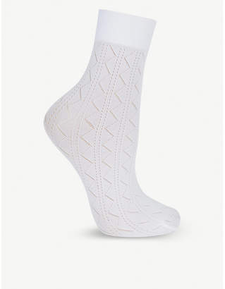 Wolford Florence knitted socks