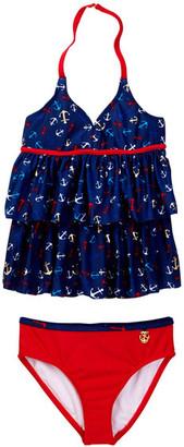 Jantzen Bon Voyage Ruffle Tankini (Little Girls) $50 thestylecure.com