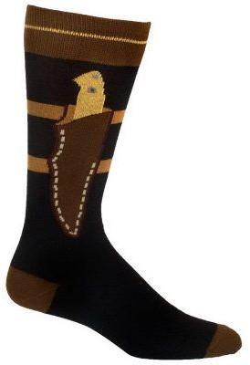 Ozone Design Set of 2 Mens Boot Knife Socks