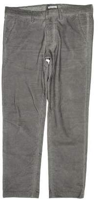 Tomas Maier Cropped Corded Pants