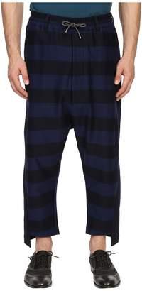 Vivienne Westwood Gipsy Stripes Twist Seam Samurai Pants Men's Casual Pants