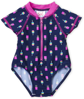 Baby Essentials Sol Swim (Newborn/Infant Girls) Popsicles One-Piece Swimsuit