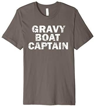 GRAVY BOAT CAPTAIN T-Shirt Funny Food Humor SHIRT