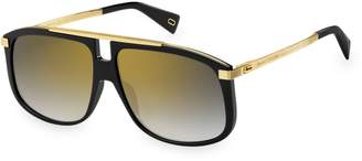 Marc Jacobs 60MM Gradient Square Sunglasses
