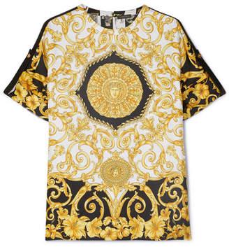f340b7cc057 Silk Versace Print Tops - ShopStyle Australia