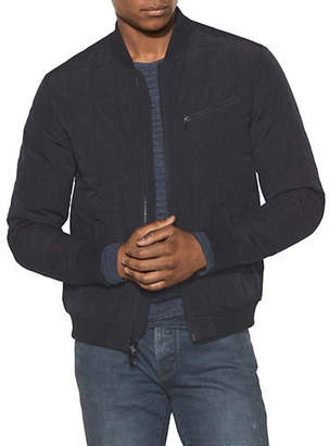 John Varvatos Quilted Water-Resistant Bomber Jacket