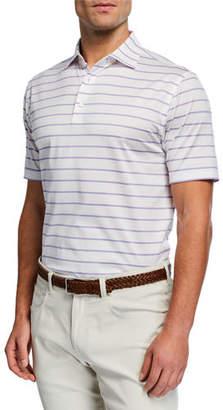 Peter Millar Men's Torrington Stripe Polo Shirt