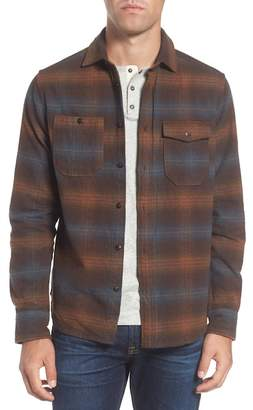 Jeremiah Canyon Plaid Brushed Twill Regular Fit Shirt