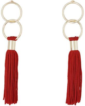 Basque Delicate Tassel Earring Red