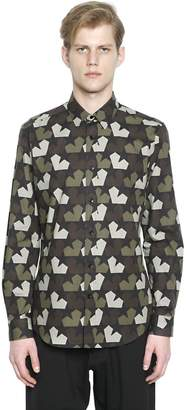 Ports 1961 Stars Camouflage Cotton Poplin Shirt