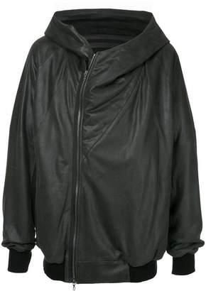 Julius geometric hooded jacket