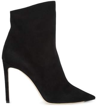 Jimmy Choo Helaine Black Suede Ankle Boots