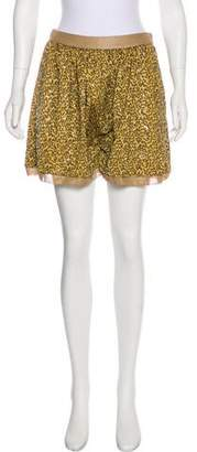 By Malene Birger High-Rise Sequined Shorts w/ Tags