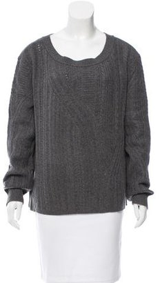 Inhabit Cable Knit Cashmere Sweater w/ Tags $155 thestylecure.com
