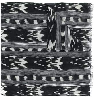 Saint Laurent printed scarf
