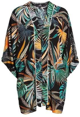 Wallis Sahara Palm Print Jacket