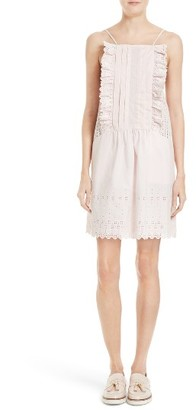 Women's La Vie Rebecca Taylor Celsie Eyelet Dress $325 thestylecure.com