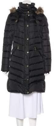 MICHAEL Michael Kors Trim-Accented Down Coat