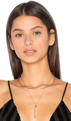 Ettika Layered Tassel Necklace in Metallic Gold. $49 thestylecure.com