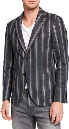 Joe's Jeans Men's Stripe Sport Jacket
