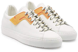 Oamc Patch Sneakers with Leather