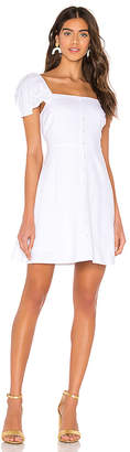 Line & Dot Mini Dress