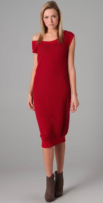 Mm6 Maison Martin Margiela Sleeveless Knit Dress
