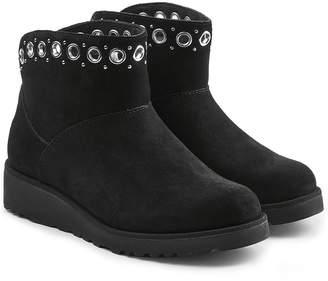 UGG Riley Embellished Suede Boots