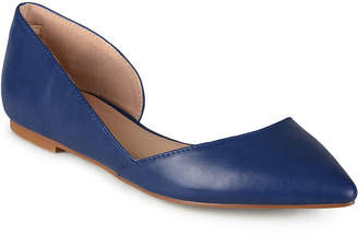 Journee Collection Womens Cortni-Wd Ballet Flats Slip-on Pointed Toe-Wide Width