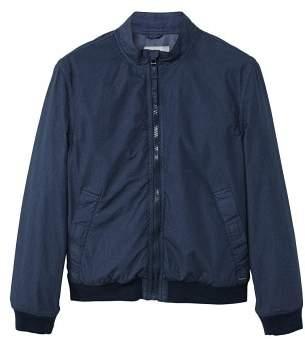 Mango man MANGO MAN Cotton windbreaker jacket