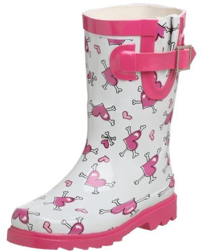 Chooka Toddler/Little Kid Heart Bones Rain Boot