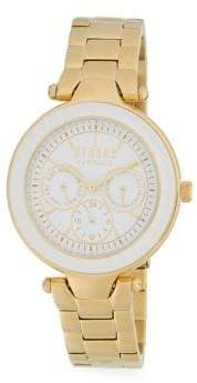 Versace Quartz Stainless Steel Link Bracelet Watch
