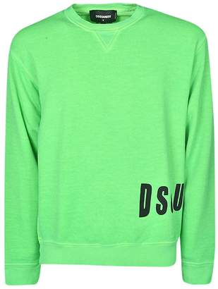 DSQUARED2 Logo Patch Sweater
