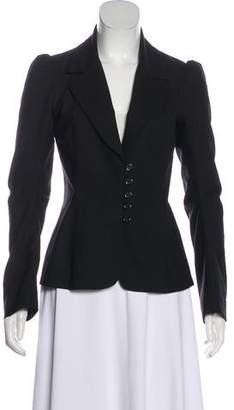 Michelle Mason Pinstripe Wool Blazer