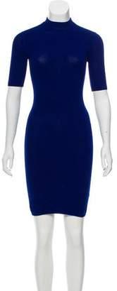 Alexander Wang Short Sleeve Knit Dress