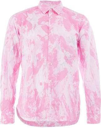 Comme des Garcons marble print shirt